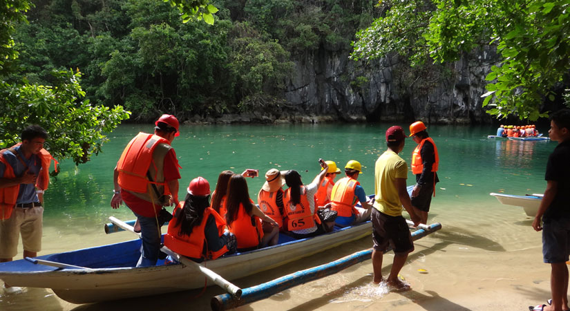 underground river Puerto Princesa 011520 - Port expected to make Palawan a major cruise destination — DPWH