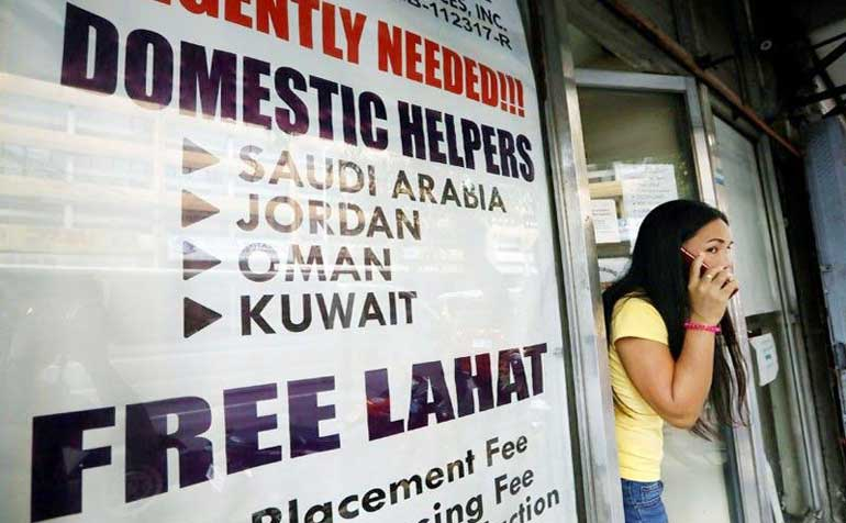 recruitment agency philstar - Kuwait deployment ban for household workers lifted