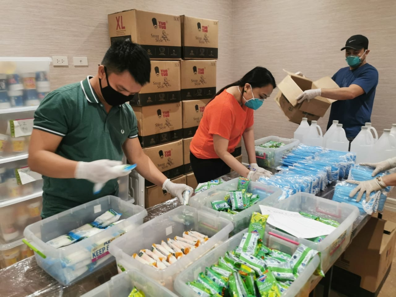 IMG 23652d39710d4d19cf86d150bca91060 V - Las Piñas Rep. Camille Villar readies essential supplies for barangay health workers, military personnel fighting against spread of COVID-19