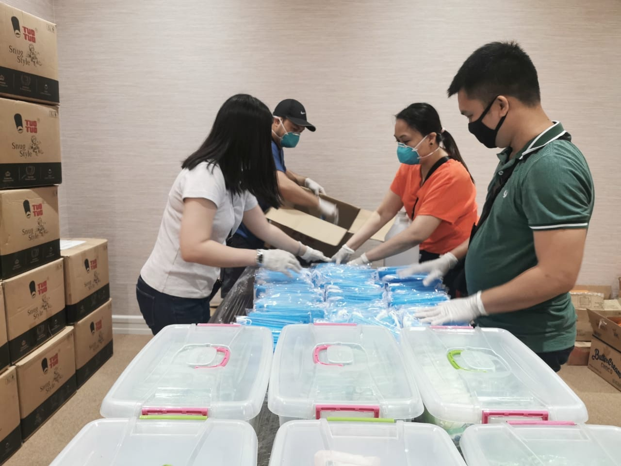 IMG b7047fbccda7ab04777e3f68b6ef5cb8 V - Las Piñas Rep. Camille Villar readies essential supplies for barangay health workers, military personnel fighting against spread of COVID-19