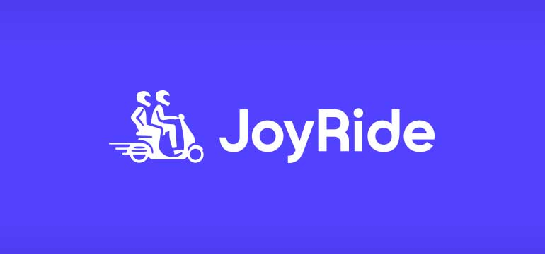JoyRide logo FB - JoyRide offers delivery services