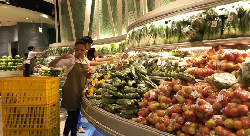 grocery supermarket vegetable 031120 - Metro Manila food supply deemed adequate in event of lockdown
