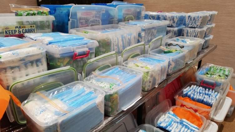received 1066017270446394 - Las Piñas Rep. Camille Villar readies essential supplies for barangay health workers, military personnel fighting against spread of COVID-19