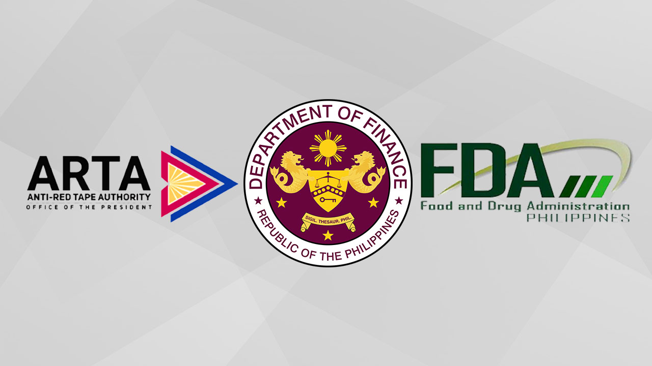 ARTA DFA FDA - Import process for urgently needed medical supplies streamlined