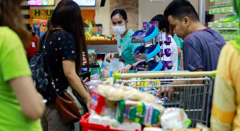 supermarket coronavirus 040320 - May inflation likely settled at 1.9% to 2.7%: BSP