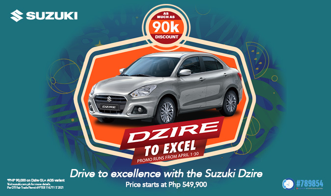Suzuki rolls out hot new promos for the month of April