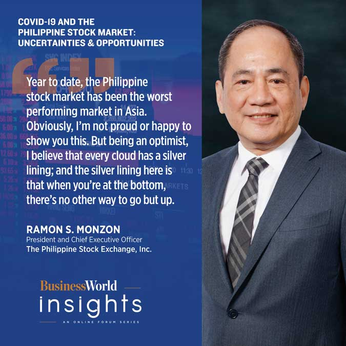 05.13.2020 BW Insights quotes RM - BUSINESSWORLD INSIGHTS: Philippine stock market amid COVID-19 crisis