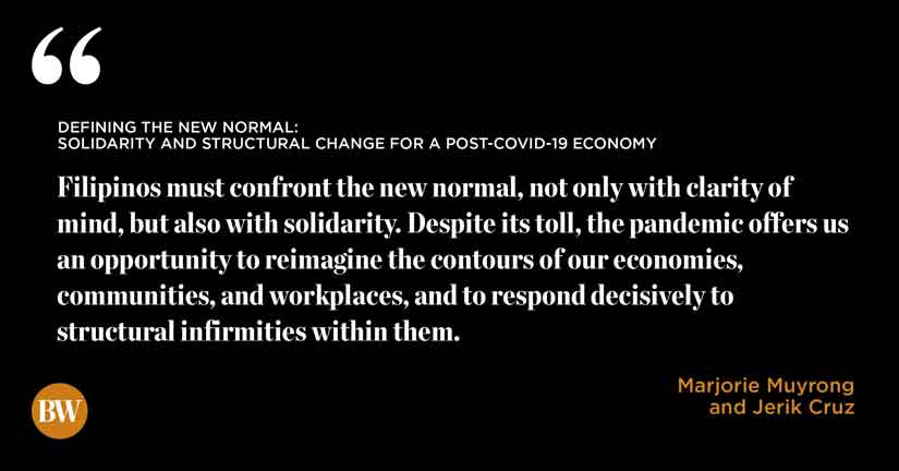 Defining The New Normal Solidarity And Structural Change For A