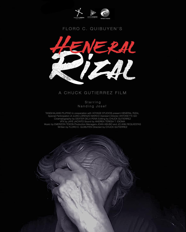 Film Heneral Rizal - Virtual Cinemalaya kicks off