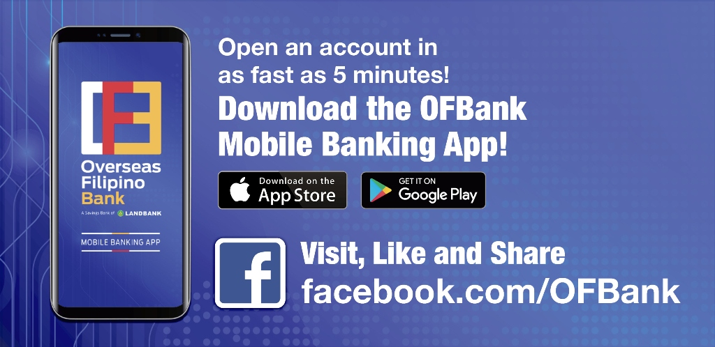 OFBank Mobile Banking App - One People. One Nation. Healing as One