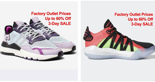 adidas2 - Online factory outlet to open with a 3-day sale