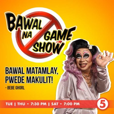 bawal na game show e1597390167625 - TV5 lineup changes on Saturday as new shows debut