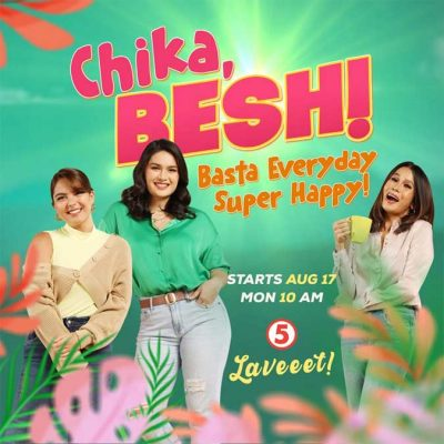 chikabesh e1597390140144 - TV5 lineup changes on Saturday as new shows debut