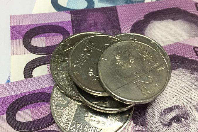 Peso to climb versus dollar on stimulus hopes