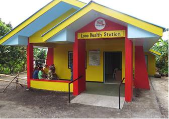 The Baranggay Health Station established in Brgy. Looc Nasugbu Batangas - Sparking hope, boosting health care amid the pandemic