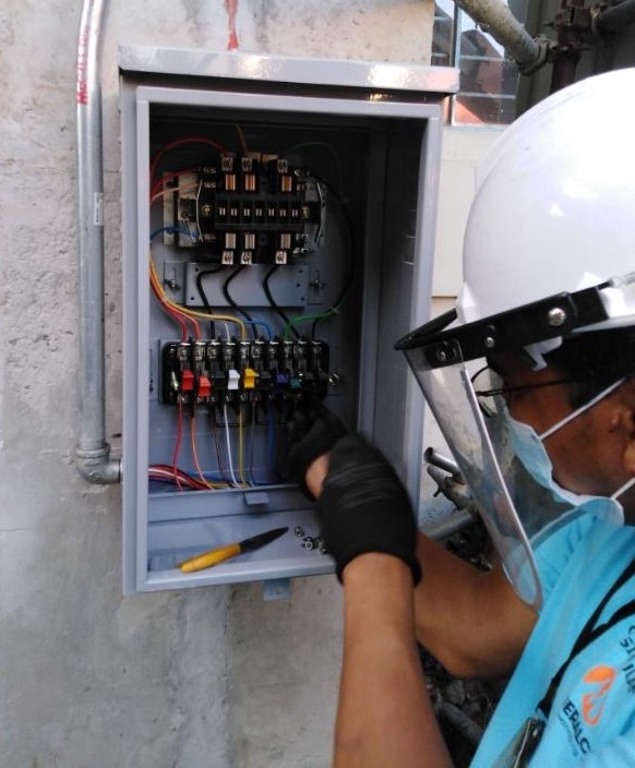 United Imus Doctors 3 - Meralco aids Cavitenos with reliable power supply to Imus' COVID-19 treatment center