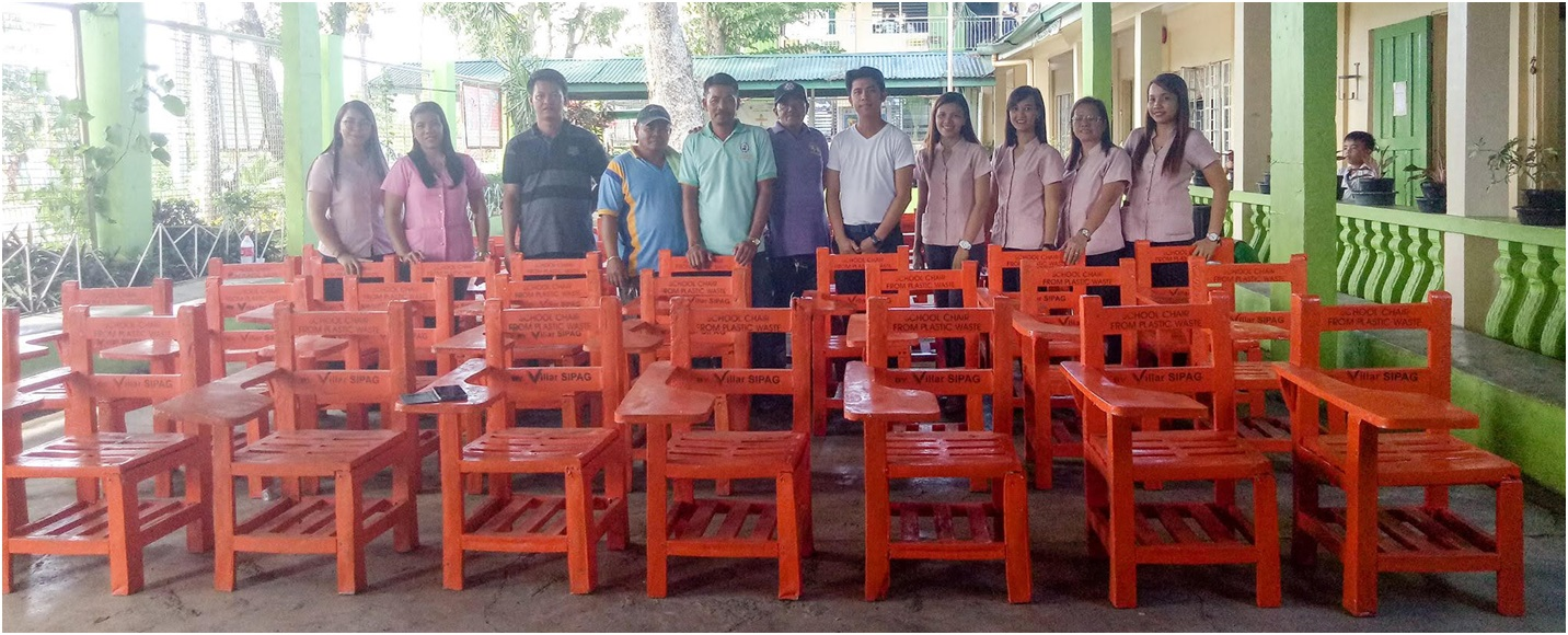 img2 - Villar's plastic recycling program gives livelihood, helps solve lack of chairs and plastic woes
