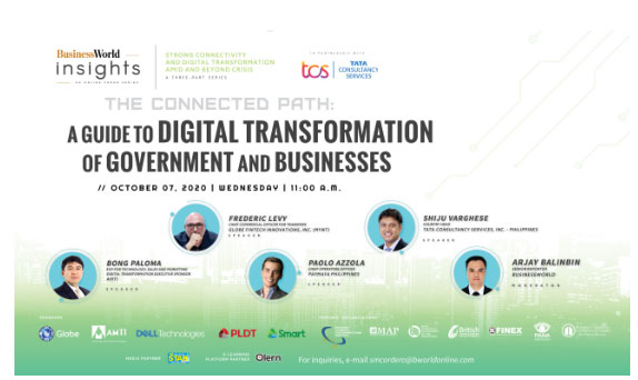 BW Insight 100720 - Digital transformation to be discussed as BusinessWorld Insights Connectivity Series continues