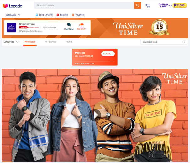 UniSilverTime 1 1 - Lazada's 11.11: The evolution of Southeast Asia's biggest online shopping festival