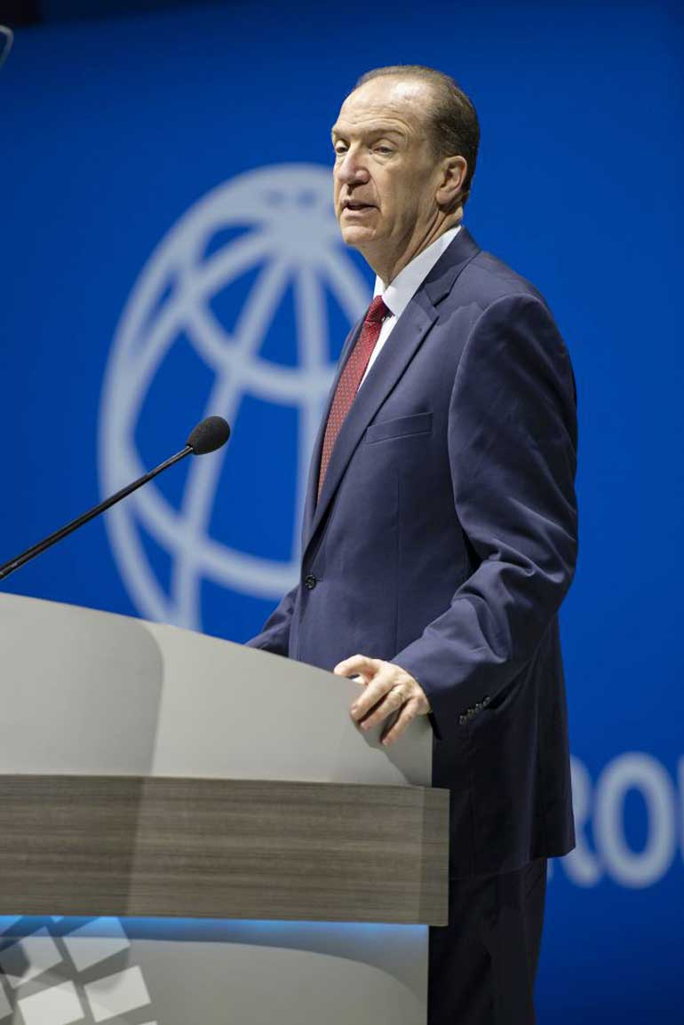 WB Malpass - Debt cancellation needed to help poorest countries — World Bank president