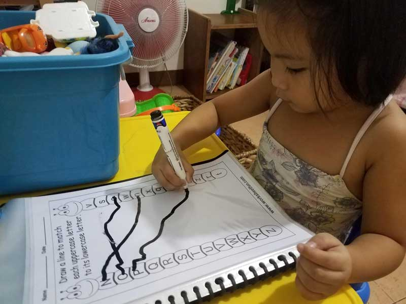 Maputi 2 - Triple duty: parenting, working, and teaching from home