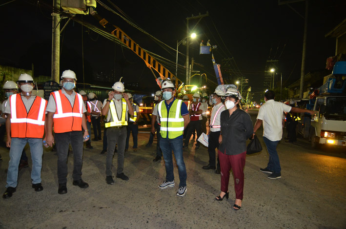 Meralco Main Photo L - Meralco implements major relocation works for the NLEX-SLEX connector road