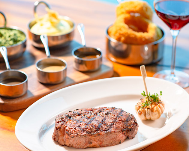 THE PEAK STEAK - A grand and safe staycation awaits at Grand Hyatt Manila