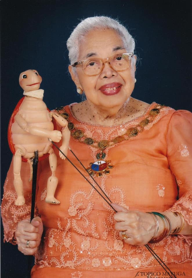 National Artist for Theater Amelia Lapeña-Bonifacio, 90