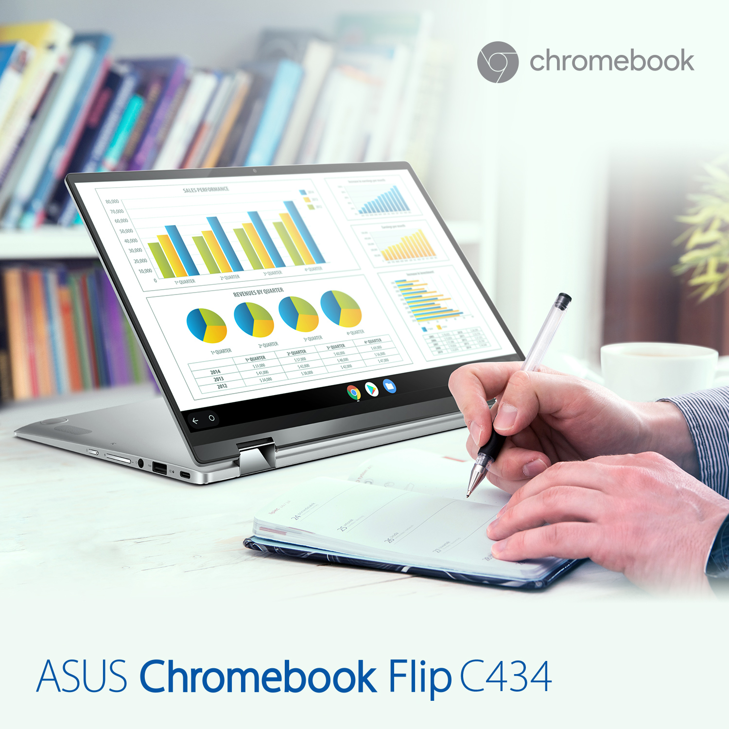 1500x1500 ChromebookFlip 434 scenario 08 p - Be ready for the workplace of tomorrow with ASUSExpert Series