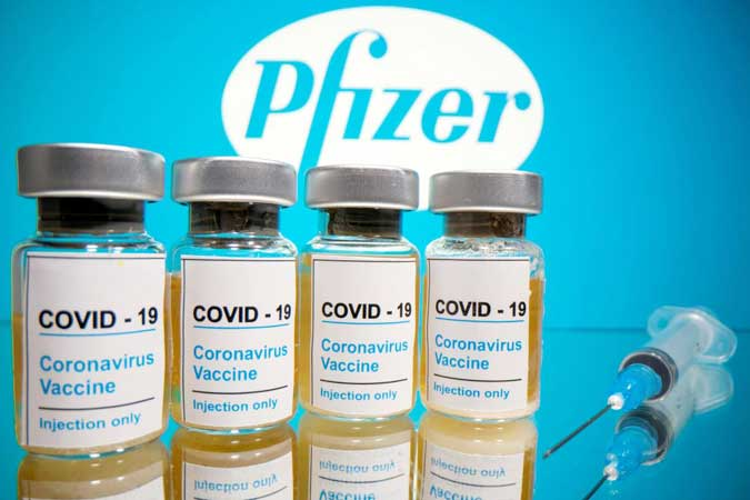 Pfizer vaccineb - Philippine COVID-19 cases nearing 453,000