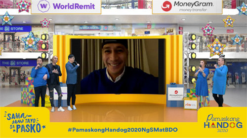 sm bdo pamaskong handog2 - BDO, SM to hold first virtual 'Pamaskong Handog 2020' in honor of overseas Filipinos