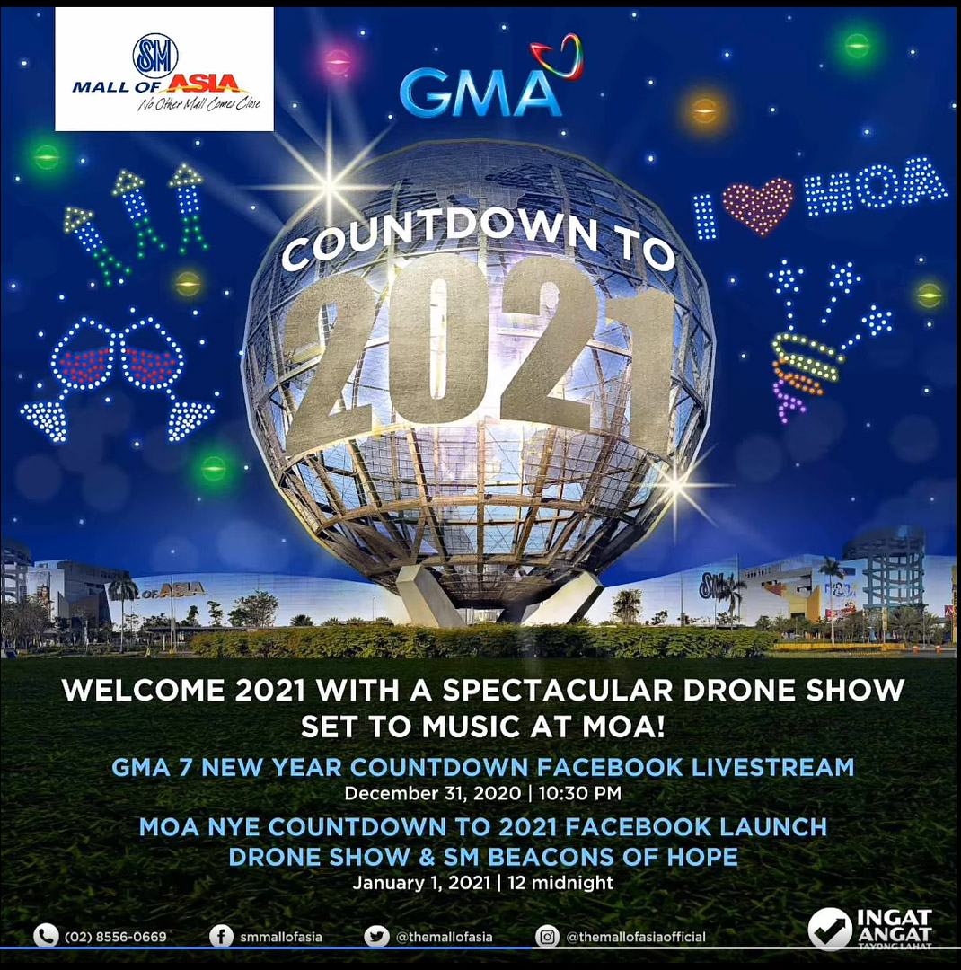 """SM ushers in the New Year with """"Beacon of Hope"""" spectacle"""